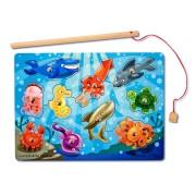 Joc de pescuit magnetic - Animale marine
