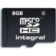 Card memorie Integral 8GB microSDHC Clasa 4