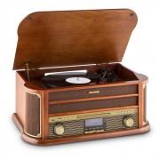 Belle Epoque 1908 DAB Stereo Retrò Giradischi DAB+Bluetooth