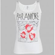 tílko dámské Paramore - X Ray White - LIVE NATION - PE10205VSW