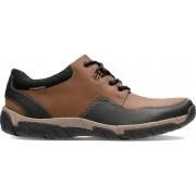 Clarks - Herenschoenen - WalbeckEdge II - G - brown leather - maat 6