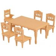 Sylvanian Families Furniture dining table set