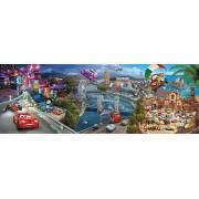 Puzzle panoramic Clementoni - Disney Cars, 1.000 piese (62420)