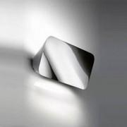 Luceplan Lane Wandleuchte / Deckenleuchte-22cm, aluminium poliert - Lagerabve...