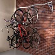 ProSignalisation Râtelier mural pour vélos suspendus