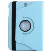 Draaibare Samsung Galaxy Tab 3 10.1 hoes licht blauw
