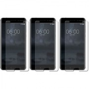 Mobik Tempered Glass for Nokia 6 - Pack of 3