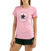 Converse Tricou pentru femei Chuck Patch Nova Tee Coastal Pink S