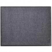 vidaXL Изтривалка за входна врата от PVC, сива, 90 х 60 см