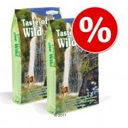 Pachet economic 2 x 7 kg Taste of the Wild Feline - Canyon River Feline