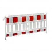 Absperrgitter, Kunststoff mit reflektierender Folie weiß / rot ab 5 Stück