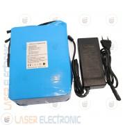 Batteria a Litio per Bici Elettrica Scooter 36V DC 15AH max Discarge 2C 30AH