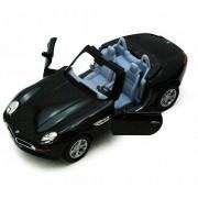 Bmw Z8 Soft Top & Open Top Convertible, Black Kinsmart 5022/2 D 1/36 Scale Diecast Model Replica