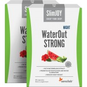 SlimJOY WaterOut STRONG Night 1+1 ZDARMA: nejrychlejší zeštíhlující účinek. Účinkuje v noci. Program na 30 dní.