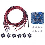 Generic 6 LED : RC LED Flashing Night Light with Control Board Module & Extension Wire for Hexacopter FPV Quadcopter