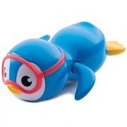 Munchkin Wind Up Swimming Penguin Bath Toy Blue