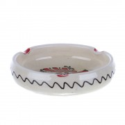 Scrumiera ceramica rosie de Corund 12 cm