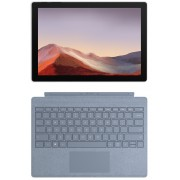 Microsoft Surface Pro 7 512GB with i7 & 16GB - platinum inkl. Surface Pro Signature Cover Ice Blue