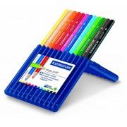 Creioane colorate Staedtler 12 culori / set Ergo Soft ST-157-S-PBP3
