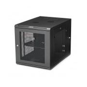 StarTech.com Gabinete Abisagrado de Pared 12U, hasta 90kg, Negro