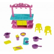 Fisher-Price Dora The Explorer Playtime Together Dora and Me Dollhouse Basic Kitchen Island