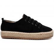 Sneakers Platform Zwart - Schoenen