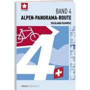 Fietsgids 04 Veloland Schweiz Alpen-Panorama-Route   Werd Verlag