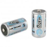 Ansmann Uppladdningsbara batterier Mono D HR20 2 st 8500 mAh 5035362