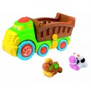 Jucarie muzicala Camionul de la ferma Little Learner