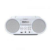 CD Audio System, Sony ZS-PS50, 2x2W, FM/AM, White (ZSPS50W.CET)