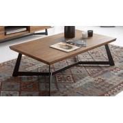items-france TABLE BASSE WOOD - Table basse en bois massif 120x70x40cm