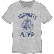 Bioworld Harry Potter - Hogwarts Alumni T-Shirt Grey