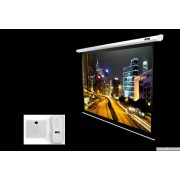 "SCREEN, Elite Screens Electric100V Spectrum, 100"" (4:3), 152.4 х203.2cm, White (ELECTRIC100V)"