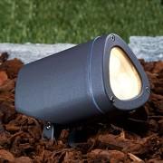 Lampenwelt.com Spot d'extérieur LED Esma 2700 K inclinable - LAMPENWELT.com