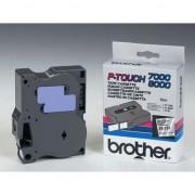 Banda eticheta brother Filmul original, pentru imprimante etichete, Brother, negru, 8m, 24mm (TX151)