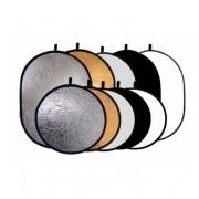 Blenda Srebrno-biała 92x122cm