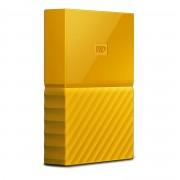 Western Digital WD My Passport WDBYFT0030BYL - Disco rígido - encriptado - 3 TB - externa (portátil) - USB 3.0 - 256-bits AES - amarelo