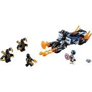 LEGO Super Heroes 76123 Amerika kapitány: Outrider támadás