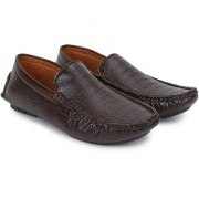 BUWCH casual brown loafer moccasin shoe for men Loafers For Men