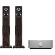 Pachete PROMO STEREO - Audio Physic - Tempo Plus + Cambridge Audio Edge A Black high gloss