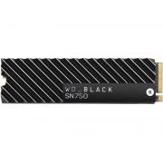 Жесткий диск Western Digital WD SN750 NVME SSD 500Gb Black WDS500G3XHC