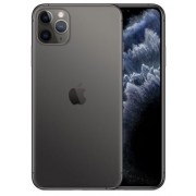 "Telefon Mobil Apple iPhone 11 Pro Max, OLED Multi‑Touch 6.5"", 64GB Flash, Camera Tripla 12MP, Wi-Fi, 4G, iOS (Gri) + Cartela SIM Orange PrePay, 6 euro credit, 6 GB internet 4G, 2,000 minute nationale si internationale fix sau SMS nationale din care 300 mi"