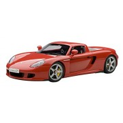 Porsche Carrera GT (Red) (Diecast model)