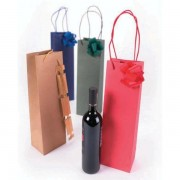 Buste shopper sveltoshopper wine kraft 125x95x400 mm blu reale 34540