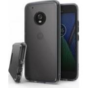Husa Ringke Motorola Moto G5 Plus 2017 Fusion Smoke Black + folie protectie display Ringke