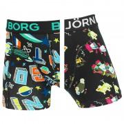 Boxershorts Jongens 2-pack Lost & Robo Zwart
