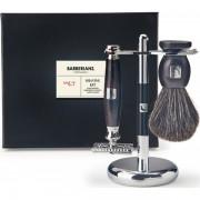 Barberians Giftbo Xshaving Set - Safety Razor, Shaving Brush Pure Badg