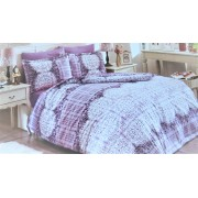 "Спален комплект ""Purple Vintage"" Ранфорс - 100% Памук"