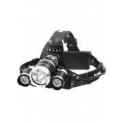 Lanterna Frontala Reincarcabila 3 Leduri Cree-XML T6 6000 Lumeni