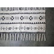 HSM Collection tapis Vejen - noir/blanc - 180x120 cm - Leen Bakker